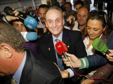 El expresidente del Real Betis Balompié Manuel Ruiz de Lopera