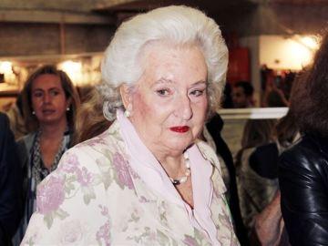 Pilar de Borbón, hermana del rey Juan Carlos