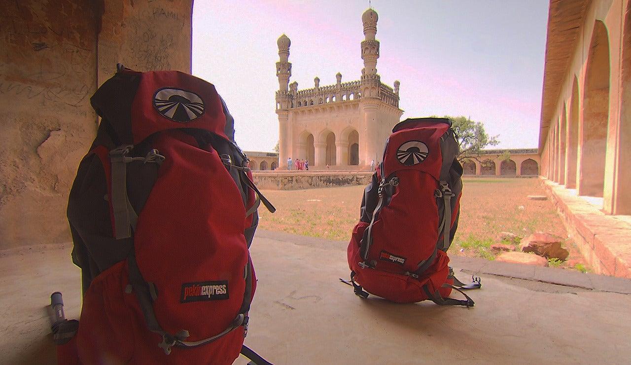Las mochilas de aventurero de Pekín Express