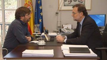 Rajoy y Évole, cara a cara en Salvados