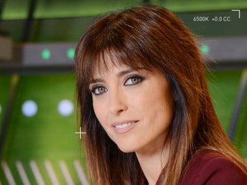Helena Resano en la portada de su libro 'La trastienda de un informativo'