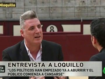 """Loquillo: """"Políticos y cocineros son las nuevas rock star"""""""