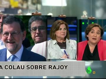 """Ada Colau: """"Estaría encantada de hablar en corto con el señor Rajoy"""""""