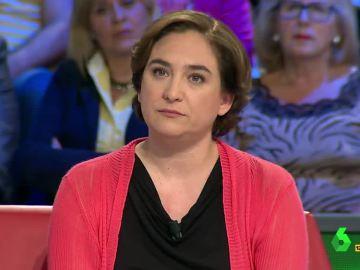 """Ada Colau: """"No nos tiene que molestar que se pite a las instituciones, hay que preguntarse por qué se silba"""""""