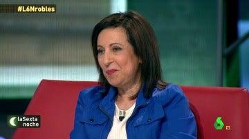 """Margarita Robles: """"Cuando tú miras para otro lado, eso también es corrupción"""""""