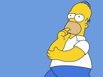 Frame de Homer Simpson