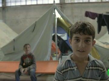 laSexta comprueba las malas condiciones en las que viven los refugiados en las nuevas instalaciones de Grecia
