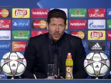 """Simeone: """"Perder dos finales es un fracaso"""""""