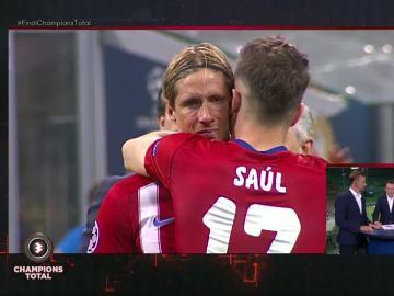 Los jugadores del Atlético de Madrid, destrozados después de la final