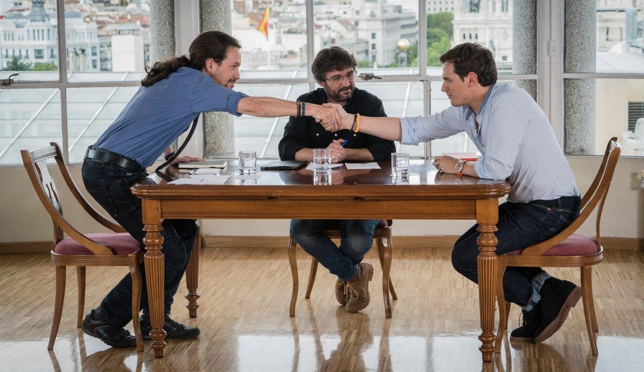 Albert Rivera y Pablo Iglesias, cara a cara en Salvados