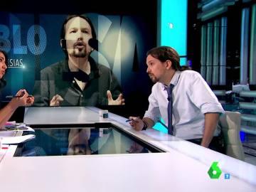 """Pablo Iglesias: """"Someteremos cualquier acuerdo de gobierno a la votación de las bases"""""""