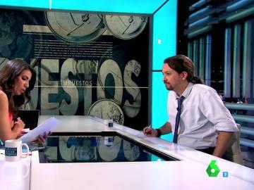 ¿Si Pablo Iglesias gana las elecciones subirá los impuestos?