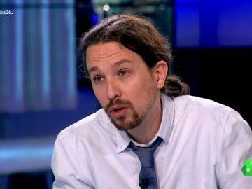 """Pablo Iglesias: """"Si quedáramos terceros, apoyaríamos un Gobierno de Pedro Sánchez"""""""