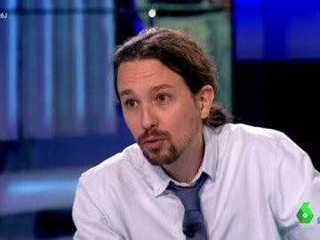 """Pablo Iglesias, sobre una coalición con el PSOE: """"Lo razonable es que el presidente sea el candidato de la fuerza política más votada"""""""