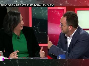 """Bescansa, enfrentada con Hernando: """"Explica a la gente por qué confrontas conmigo y no con el PP"""""""