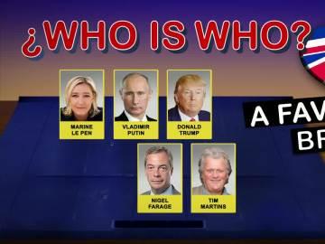¿Who is who?: Los rostros a favor y en contra del 'Brexit'