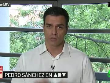 """Pedro Sánchez: """"Me gustaría pactar con las fuerzas de izquierdas, con una vicepresidenta socialista"""""""