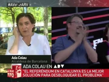 """Ada Colau: """"Asistimos al fracaso de una Europa que se ha construido a espaldas de la gente"""""""
