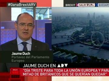 """Jaume Duch: """"Reino Unido va a tener que sustituir cientos de leyes europeas por leyes nacionales"""""""