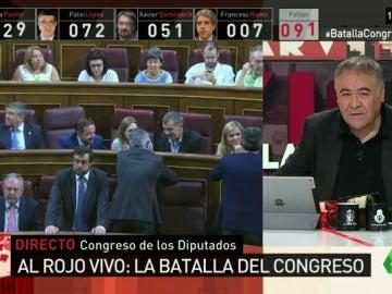 """laSexta Noticias lanza el 'Congresómetro': """"Imitadores, ahí tienen una nueva versión de grafismo"""""""