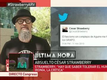 """César Strawberry, tras ser absuelto: """"Hay que saber tolerar el humor, hemos estado ante una caza de brujas"""""""