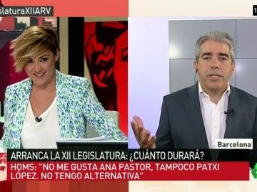 "Francesc Homs: ""No me gusta Ana Pastor, tampoco Patxi López, no tenía alternativa"""