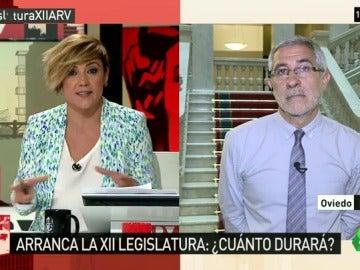 """Gaspar Llamazares: """"No creo en las casualidades en política, 10 votos no se escapan, se organizan"""""""