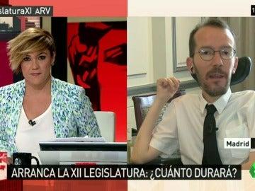 """Echenique: """"Parece que en el mercadeo todo es posible, incluso el pacto de Rajoy con su enemigo independentista"""""""