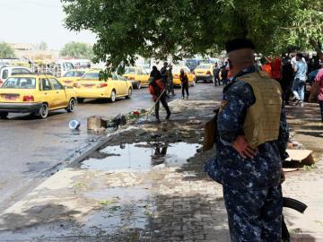 Un ataque suicida causa al menos 21 muertos y más de 30 heridos en una zona de mayoría chií de Bagdad