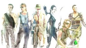 De Han Solo a Katniss Everdeen: los héroes y heroínas más valientes de la historia del cine