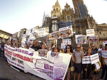 """Las víctimas del Alvia exigen justicia: """"Seguimos luchando por la verdad y se depuren todas las responsabilidades"""""""