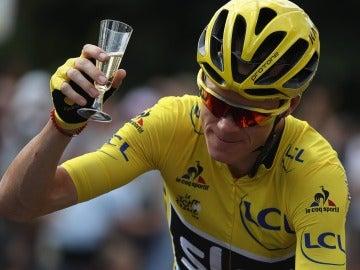 Froome conquista el Tour de Francia por tercera vez