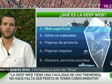 """Andrés Ortiz: """"Daesh quiere ser encontrado y en la Deep Web se encuentran fácilmente foros yihadistas"""""""