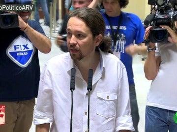 Pablo Iglesias, el líder político que menos ha cambiado su discurso desde las pasadas elecciones del 26J