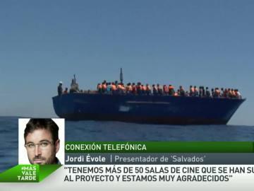 """Jordi Évole, sobre su viaje a Libia: """"Hemos visto una tragedia humanitaria, barcazas con 450 personas cada una"""""""