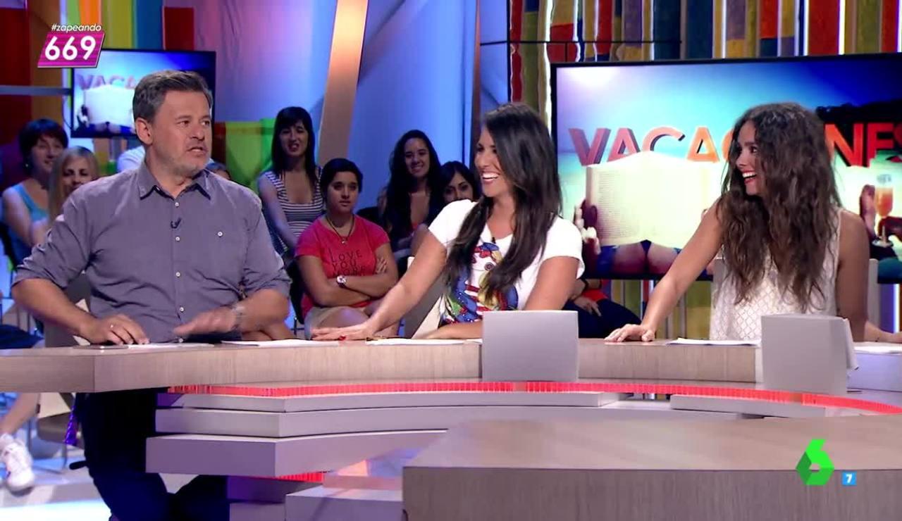 Miki Nadal, Irene Junquera y Cristina Pedroche
