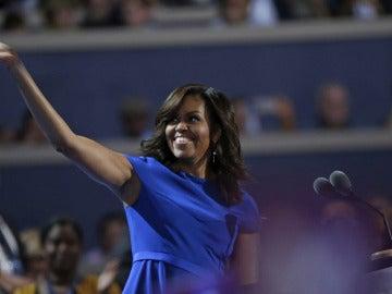 Michelle Obama en la convención del Partido Demócrata de EEUU