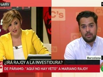 Tensión entre De Páramo y Pardo por Rajoy ¿Hay veto de C's al presidente en funciones para dar un 'sí' al PP?