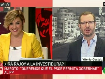 """Javier Maroto: """"No queremos que el PSOE se haga del PP, lo que queremos es que permitan que gobernemos"""""""
