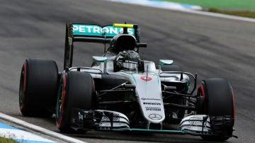 Rosberg en Alemania