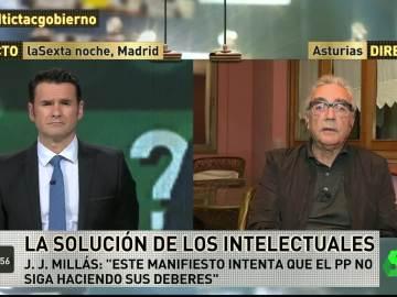 """Juan José Millás: """"Entre la política y la realidad hay un divorcio que pone los pelos de punta"""""""