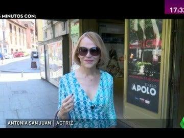 """De la cultura a la política, tres minutos con Antonia San Juan: """"La situación política es un drama, me molesta que se tome como comedia"""""""