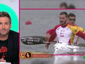 """Irene Junquera: """"He tocado la medalla de oro y me extraña que no se hagan una contractura con lo que pesa"""""""