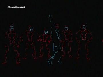 El Glow Dance más luminoso de Samuel en Eso lo hago yo