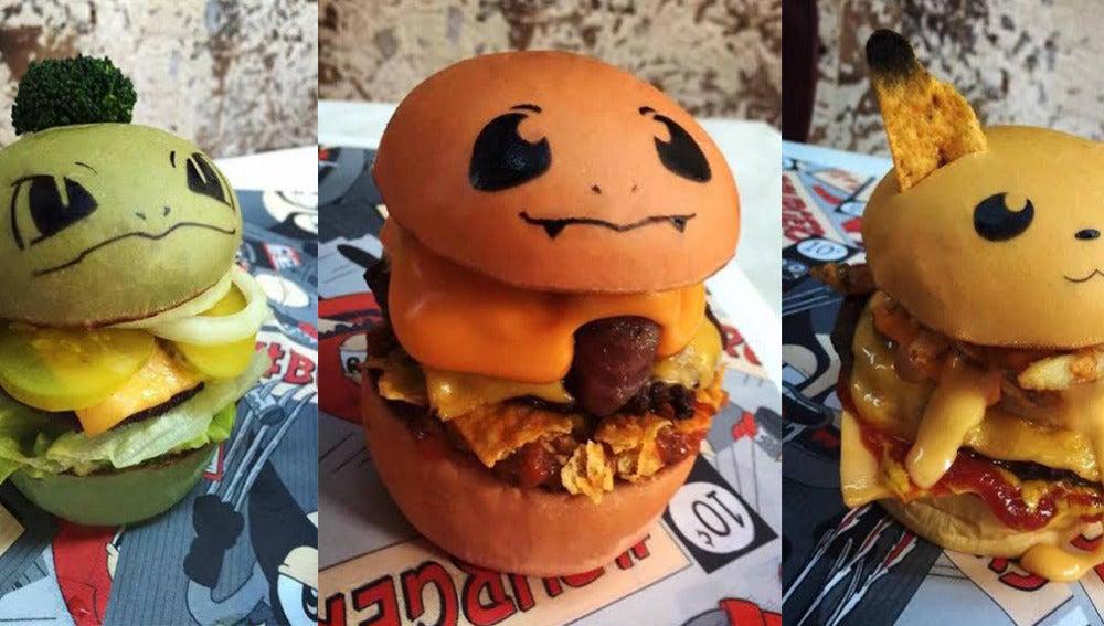 Imagen de las 'pokeburgers'