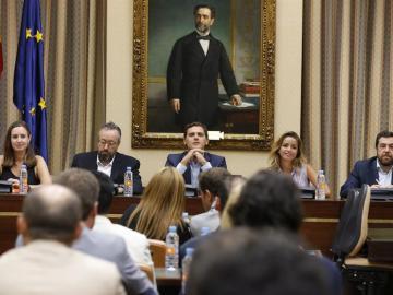 """Albert Rivera, sobre el encuentro de Rajoy y Sánchez: """"La reunión simboliza la decadencia de un sistema agotado"""""""