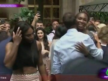 """Lorena Castell comenta la mirada indiscreta de Serena Williams: """"¡Qué no me entere yo que ese 'culito' pasa hambre!"""""""