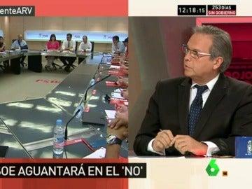 """Carmona: """"Si hay terceras elecciones probablemente ninguno de los cuatro líderes se debería presentar"""""""
