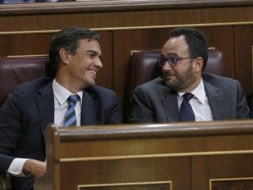 """El PSOE considera que el discurso de investidura de Mariano Rajoy es el de """"un presidente agotado"""""""