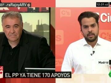 """De Páramo: """"Cambiamos de posición pensando en España, si Sánchez lo hiciera evitaríamos terceras elecciones"""""""